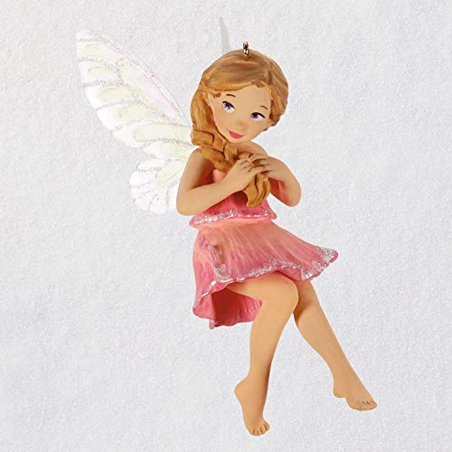 (Hallmark Keepsake Christmas Ornament 2019 Year Dated Messengers Sweet Pea Fairy)