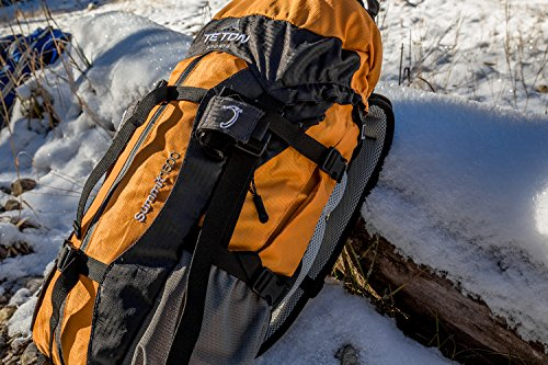 Teton Sports Summit 1500 Ultralight Backpack; Lightweight Daypack; Durable Hiking Backpack for Camping, Hunting, and Travel; Just the Right Size for a Quick Getaway; Don't Settle for the Basics by Teton Sports (Image #9)
