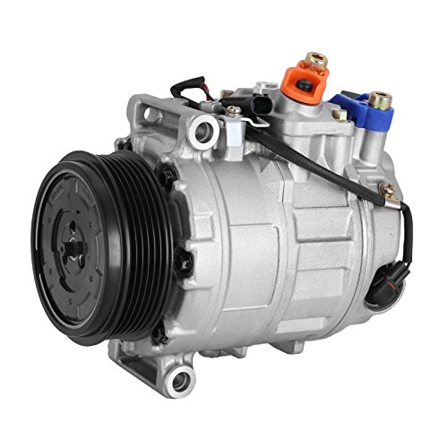Happybuy CO 11245C 0002306511 Universal Air Conditioner AC Compressor for 02-13 Mercedes-Benz C, CL, CLK, CLS, E A/C Compressor with clutch 97394 98394 97366 98366 97396 98396