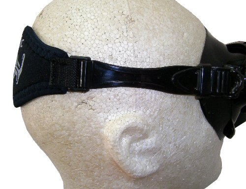 Oceanic Comfort Neoprene & Silicone Mask Strap - Scuba Diving & Freediving