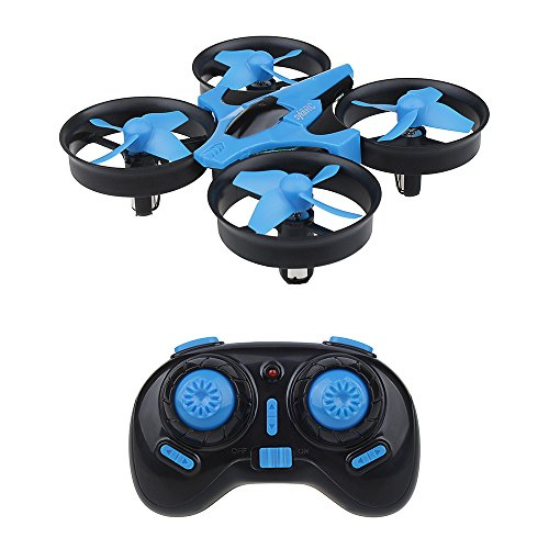 sykii RC Mini Drone H36 2.4GHz 6Axis Gyro Headless Mode Remote Control One Key Return RC - Charger 30 Min Battery