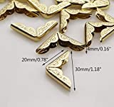 Metal Book Corner Protectors 100Pcs