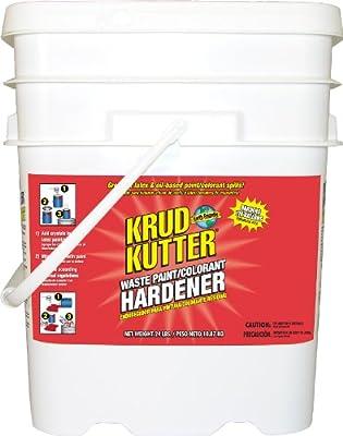 Krud Kutter PH110 Odorless Waste Paint/Colorant Hardener, 5-Gallon, Clear