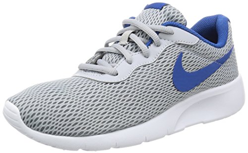 timeless design dd68b dbd1f Galleon - NIKE KIDS NIKE TANJUN (GS) WOLF GREY BLUE JAY WHITE SIZE 6