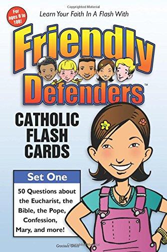 Friendly Defenders: Catholic Flash Cards