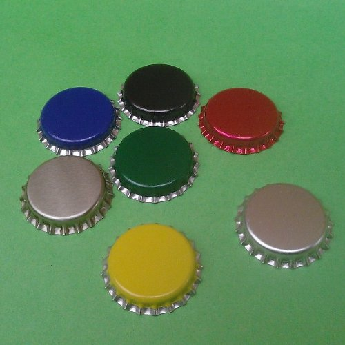 Crown Caps - pack of 100 assorted colours Bigger Jugs