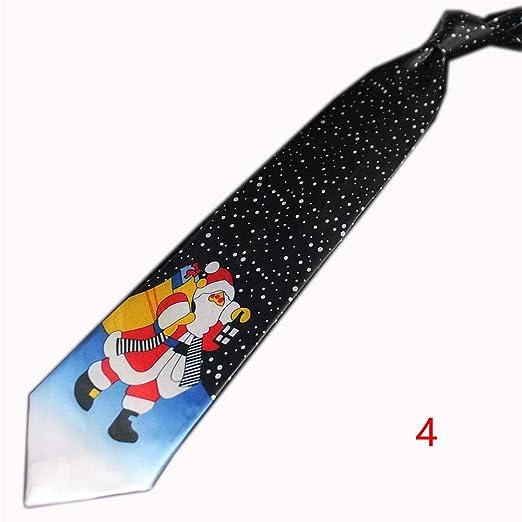 zhuangyulin6 Corbata de Navidad, Corbata de Navidad para Hombres y ...