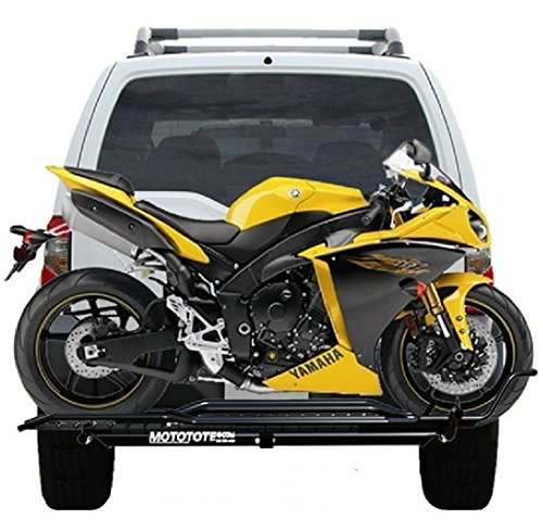 Cheap MOTOTOTE MOTO TOTE SPORT BIKE MOTORCYCLE CARRIER HITCH HAULER RACK RAMP