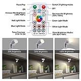 Elfeland RGB LED Spotlight LED Closet Lights with