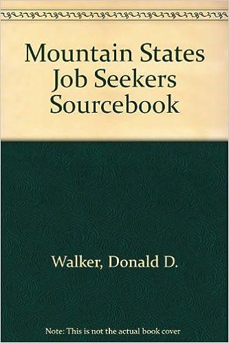 Mountain States Job Seekers Sourcebook