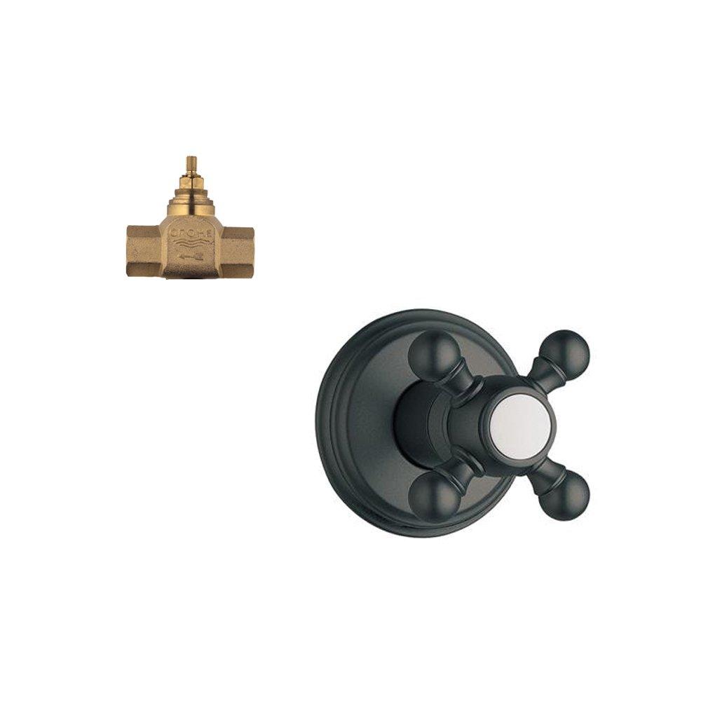 Oil Rubbed Bronze Grohe K19829-29274R-ZB0 Geneva Volume Control Kit