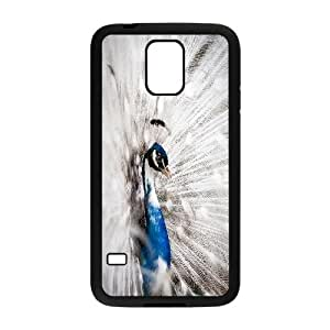 Peacock Pattern Hard Plastic Back Cover Case For Samsung Galaxy S5 Case HSL440953