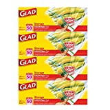 Glad Food Storage Bags, Zipper Gallon, 200 Count Reviews