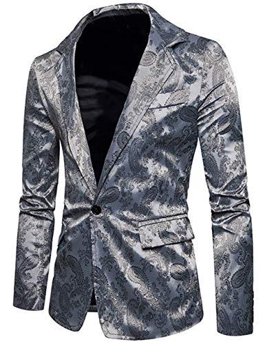 Casual Sportiva Slim Classica Alla Moda Giacca Grau Da Giacche Abbigliamento Uomo Fit Vento 8wAqA4B