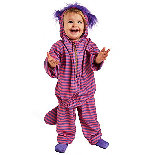 Toddler Cheshire Cat Costume, Size Toddler 2-4T (Cheshire Cat Costume Baby)
