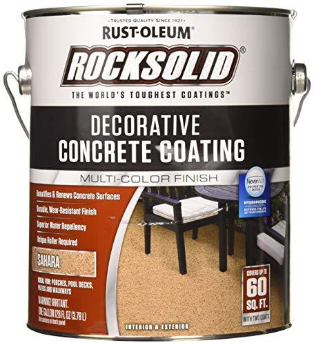 (RUST-OLEUM 306265 306265 Gallon Sahara Concrete Coating)