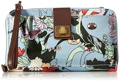 Sakroots Artist Circle Large Smartphone Crossbody, Sky Blue ...