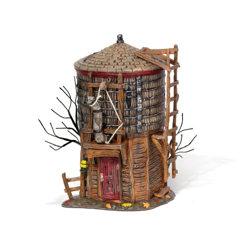 (Department 56 810639 Halloween Accessories for Dept 56 Village Collections Haunted Rails Water Tower Village)
