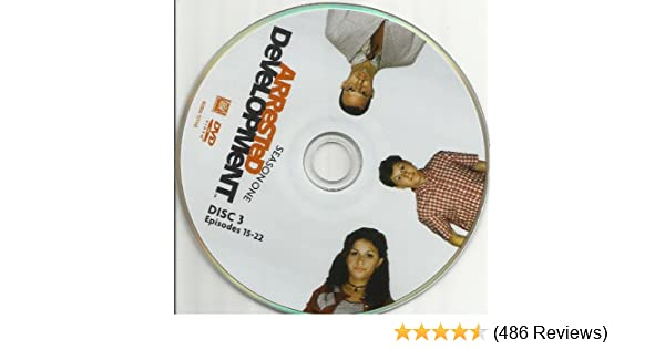 Amazon.com: Arrested Development Season 1 Disc 3 Episodes 15-22 Replacement Disc!: Movies & TV