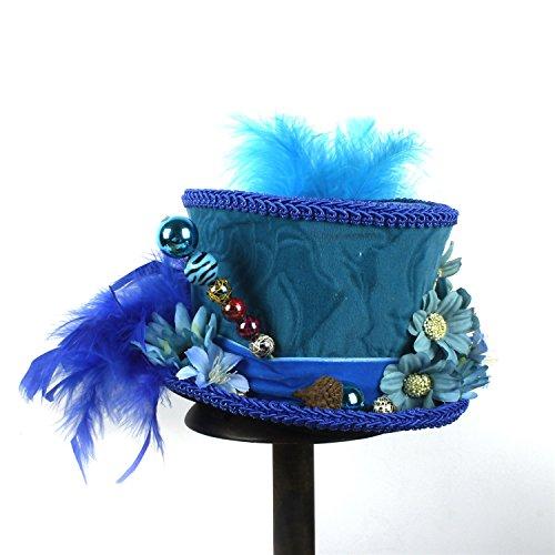 De Mariposas Y Azul Color Sombrero Dimdimmy Mariposa Gorro Con Derby 30cm Azul Pink 25 Diseño Kentucky 1wAftxIq