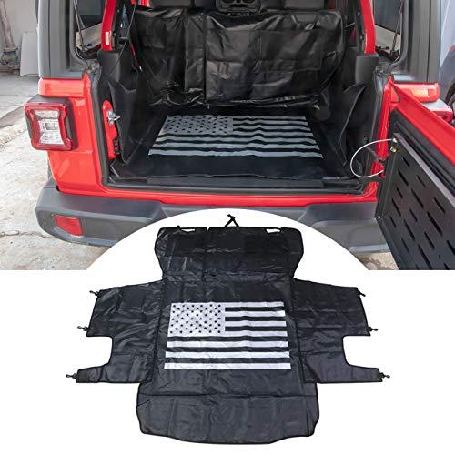 jeep wrangler rear cargo liner - 8