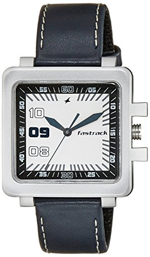 Fastrack Essentials Analog White Dial Men's Watch  NL747PL01 / NL747PL01