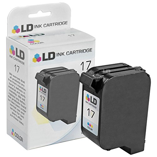 15 17 Ink Cartridge - LD Remanufactured Replacement for HP 17 C6625AN Color Ink Cartridge for use in DeskJet 825, 840, 841, 842, 843, 845