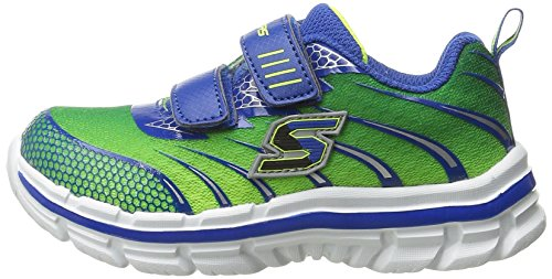 Skechers Nitrate-Top Speed Niño US 7 Verde Zapatillas