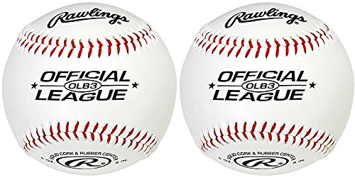 Price comparison product image Rawlings OLB3 Official League Recreational Play Baseball (2)