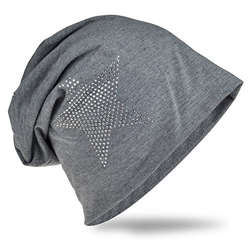 Miobo - Gorro de Punto - para Hombre gris oscuro