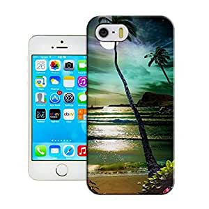 LarryToliver iphone 5/5s Awesome Plastic Protective Skin Case Cover Shell - Customizable Seaside landscape
