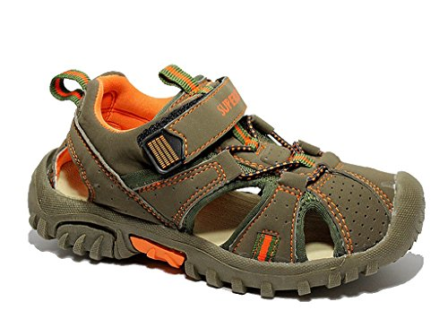 Kinder Sandalen Sneaker Kinderschuhe Sommer Freizeitschuhe Klettschuhe Sandalette Khaki