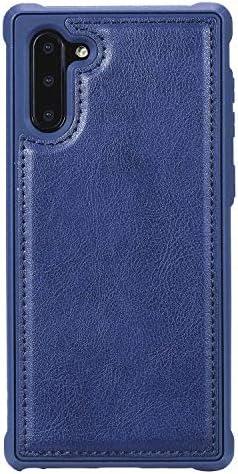 Samsung Galaxy S9 Plus プラス レザー ケース, 手帳型 サムスン ギャラクシー S9 Plus プラス 本革 スマホケース 財布 カバー収納 全面保護 ビジネス 無料付スマホ防水ポーチIPX8