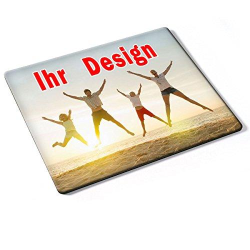 Custom DE-011, Geschenk Gift Individuelle Personalisierte Mousepad Mauspad Maus-Pad Stark Anti Rutsch mit eigenem ihr Foto Motiv Namen Design Text. Allen Maustypen (Kugel, Optisch, Laser).