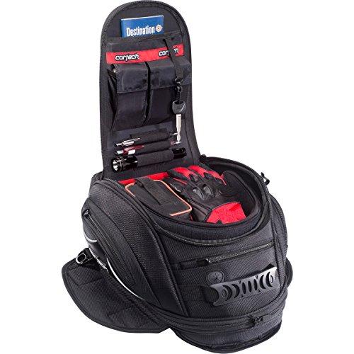 Cortech Super 2.0 10L Magnetic Mount Motorcycle Tank Bag - Black/One Size