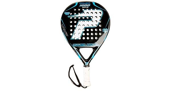 POWER PADEL 1000 2012 - Pala, Color Negro/Blanco, 38 mm: Amazon.es: Deportes y aire libre