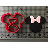 Minnie Mouse Cookie Cutter Set 2 inches by Happy