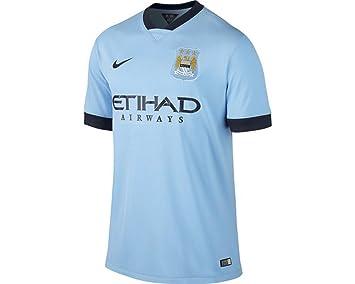 2014-2015 Man City Home Nike Football Shirt