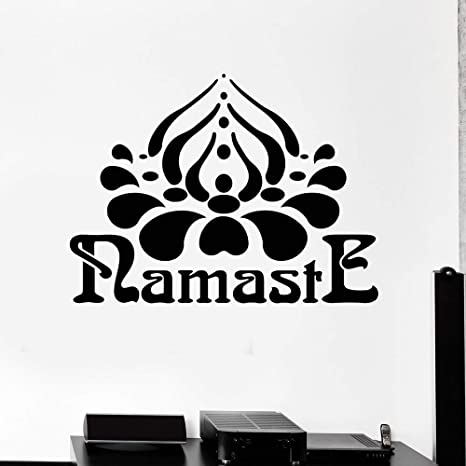 Tatuajes de pared Namaste Hinduismo Yoga Hindú India ...