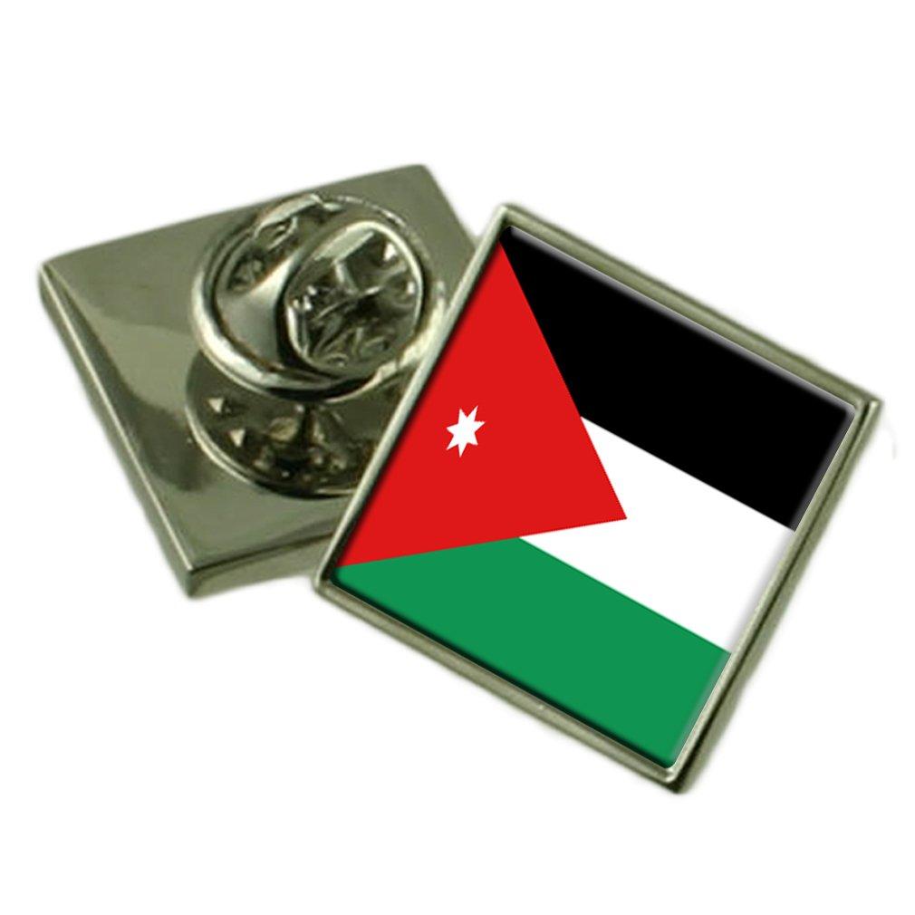 Jordan Lapel Pin Badge Engraved Personalised Box