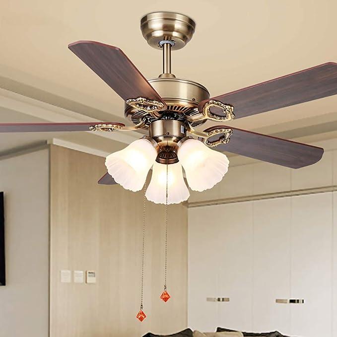 WWLONG - Lámpara de Techo con Interruptor de tirón (107 cm ...