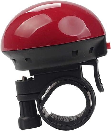 Chou - Timbre eléctrico para Bicicleta (Sonido Claro y Potente, para Bicicleta de montaña y Bicicleta), Rojo: Amazon.es: Deportes y aire libre