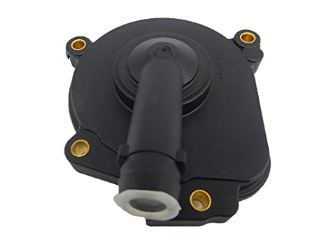 Amazon com: Engine Crank Crankcase Vent Valve Breather Cover
