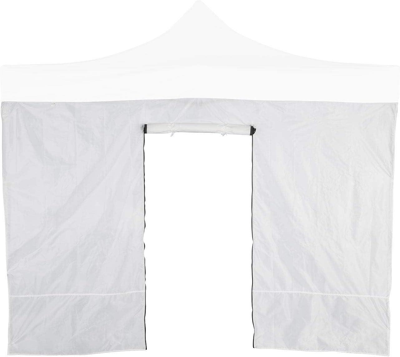 Rei/ßverschluss-T/ür Royal Gardineer Zubeh/ör zu Festival-Zelt-Pavillon: Wandseitenteil f/ür Faltpavillon 3 x 1,9 m Garten-Pavillon wei/ß