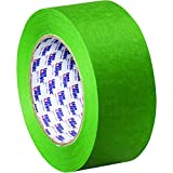 BOX USA BT937320012PK Tape Logic 3200 Painter's Tape, 2'' x 60 yd., Green (Pack of 12)