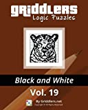 Griddlers Logic Puzzles: Black and White (Volume 19)