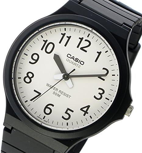 カシオ クオーツ ユニセックス 腕時計 MW-240-7BV ホワイト/ブラック [並行輸入品]