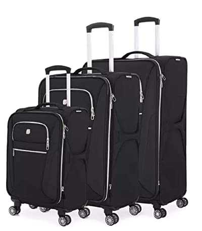 SWISSGEAR 7850 3-piece Expandable Spinner Luggage