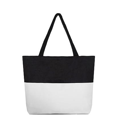 a1efc46e805e4 Borsa Shopping Tote Tote Bag da Viaggio alla Moda per Donna Borsa Spesa  Riutilizzabile per generi