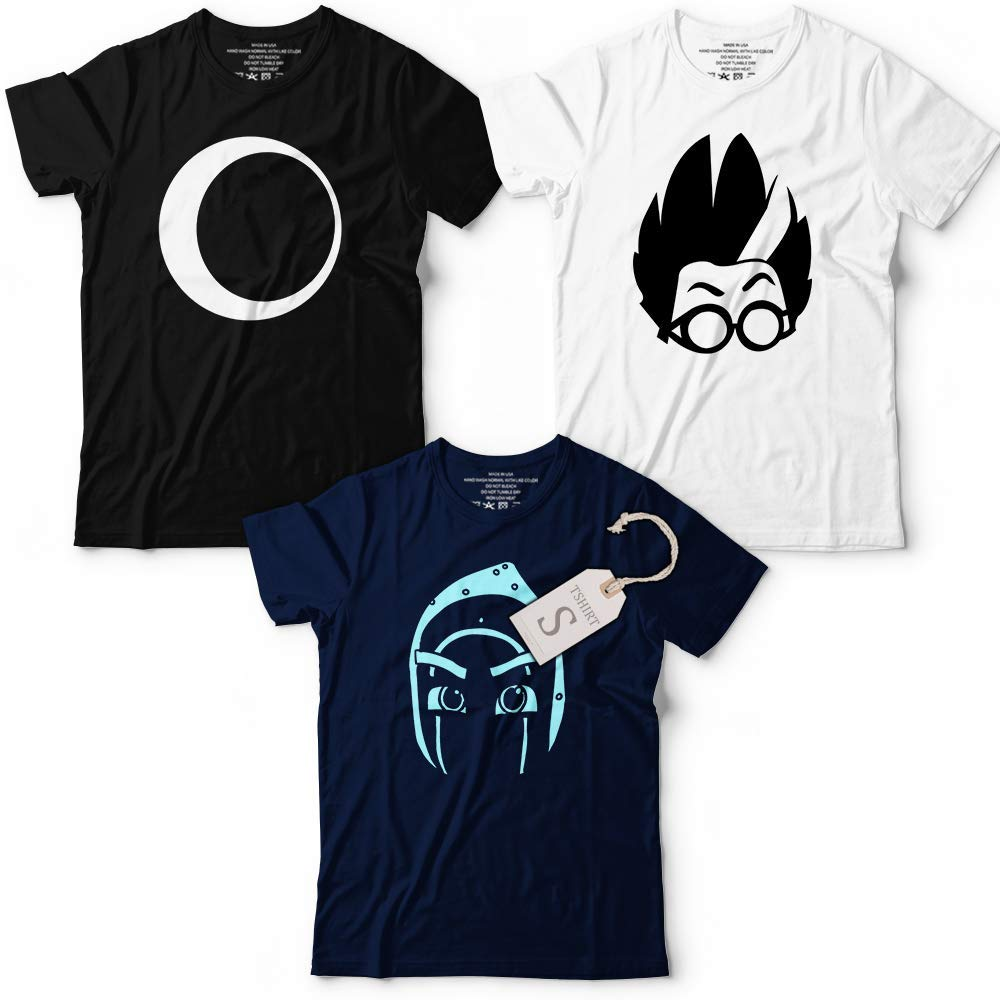 Ninja Luna Romeo Superhero Masks Costume Halloween PJ Team Customized Handmade T-Shirt Hoodie/Long Sleeve/Tank Top/Sweatshirt